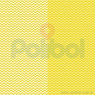 Cartulina Entretenida de zigzag amarillo