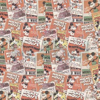 Papel de regalo Mickey tarjetas