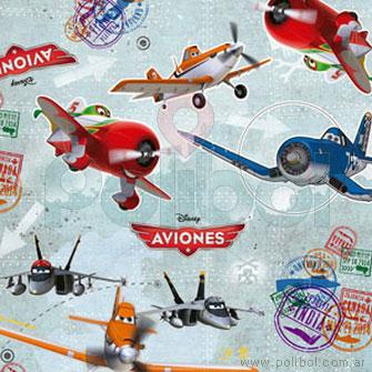 Papel de regalo Aviones