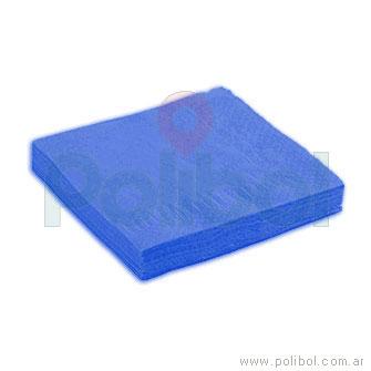 Servilletas de 33 x 33 azul