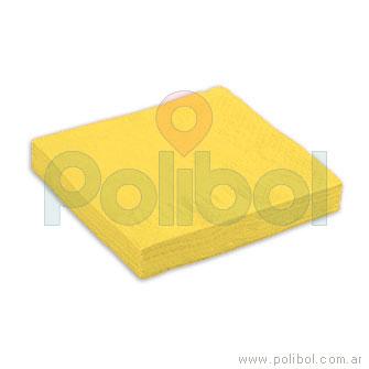 Servilletas de 25 x 25 amarilla