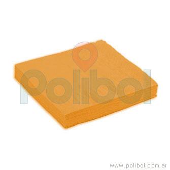 Servilletas de 25 x 25 naranja
