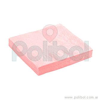 Servilletas de 25 x 25 rosa
