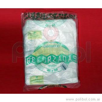 Bolsa camiseta reforsada OXI 45 x 60 cm.
