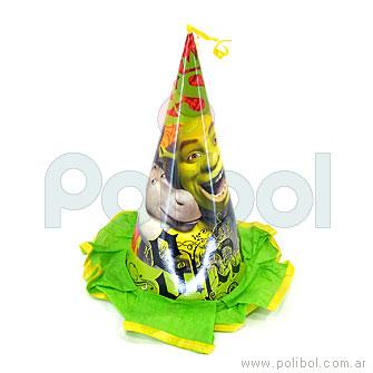 Gorro del homenajeado Shrek