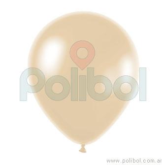 Globo de color perlado marfíl