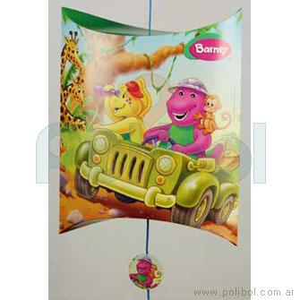 Piñata de cartón Barney