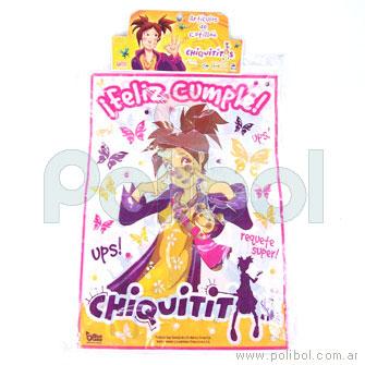 Mantel de plástico Chiquititas