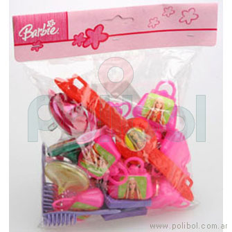 Bolsa de Minijuguetes de cotillón Barbie