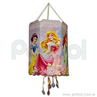 Piñata de cartón Princesas