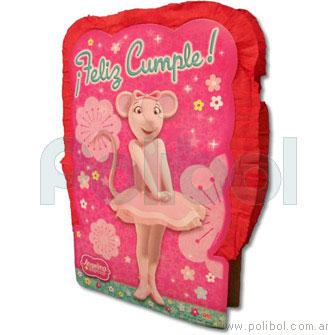 Piñata de cartón Angelina Ballerina