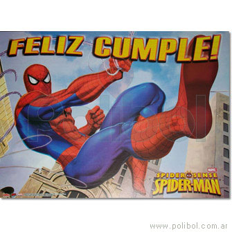 Afiche de Feliz cumple Spiderman 3