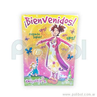Afiche de Bienvenidos con recordatorio Chiquititas