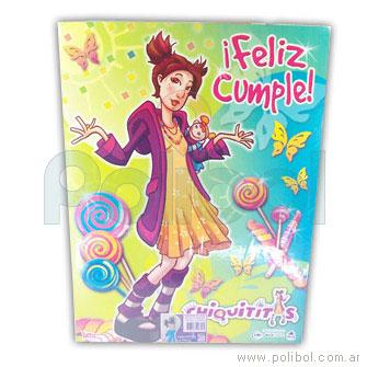 Afiche de Feliz cumple Chiquititas