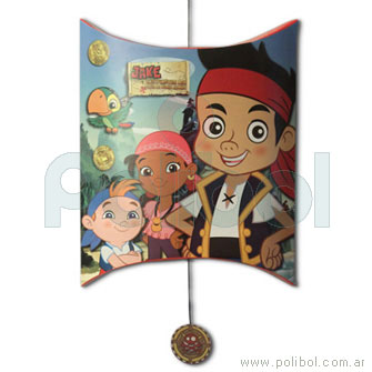 Piñata de cartón Jake y los piratas