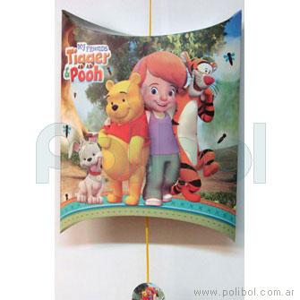 Piñata de cartón Pooh y Tigger