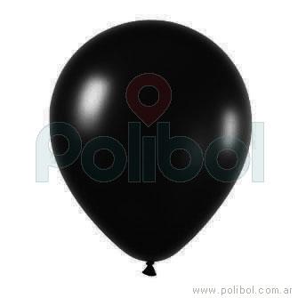 Globo color perlado negro