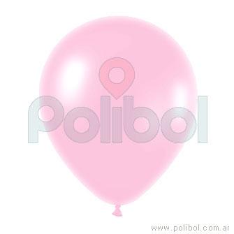 Globo color perlado rosa