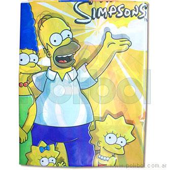 Mantel de plástico Los Simpsons