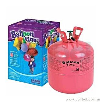 Garrafa de Helio Ballon Time