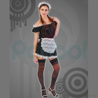 Disfraz para adultos de Mucama Talle 1