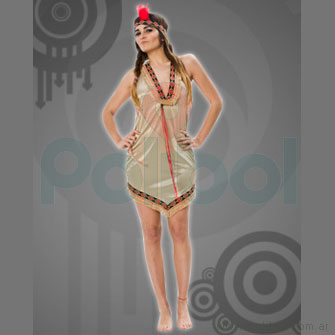 Disfraz para adultos de India Talle 2
