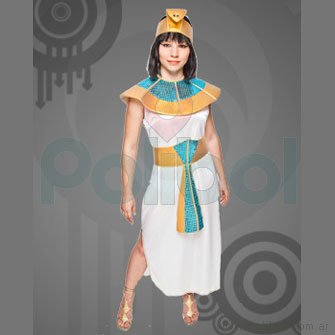 Disfraz para adultos de Cleopatra Talle 1