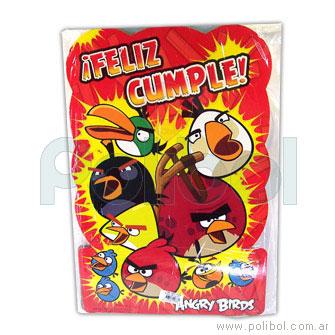 Piñata de cartón Angry birds
