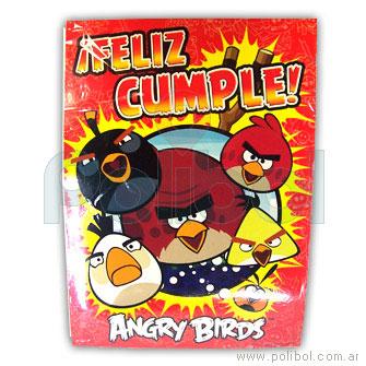 Afiche de Feliz cumple Angry birds