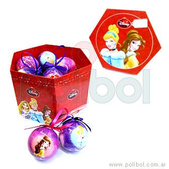 Bolas de Navidad Princesas x 14