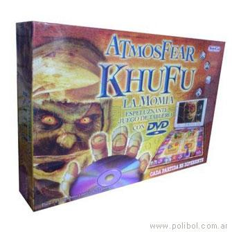 Atmosfear Khufu DVD