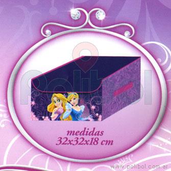 Organizador con tapa para armar Princesas