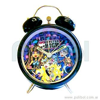 Reloj despertador Monster High