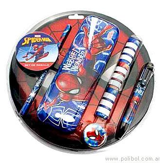 Set de regalo Spiderman
