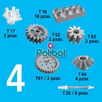 Kit de accesorios 4. 38 Piezas