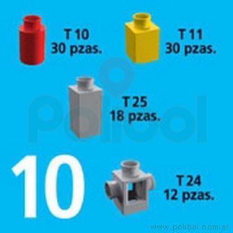 Kit de Accesorios 10. 90 Piezas