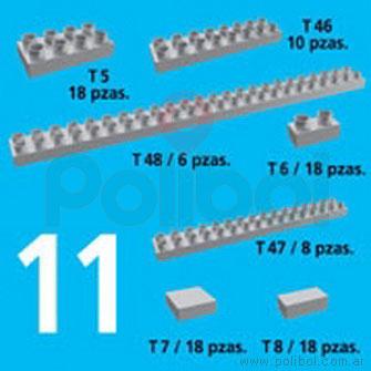 Kit de Accesorios 11. 96 Piezas