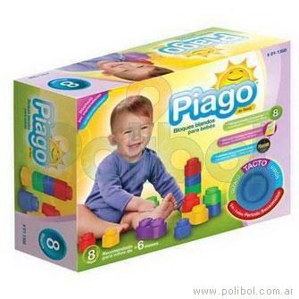 Bloques blandos (pack de 8) para bebés