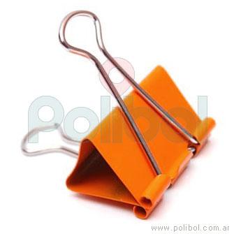 Binder 25 mm Naranja Fluo