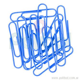 Ganchos Clips Azul Fluo