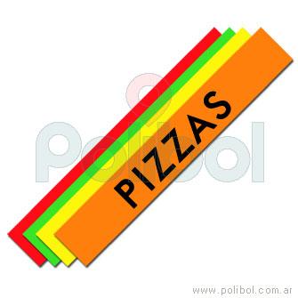 Faja de pizzas.