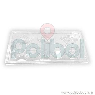 Molde plástico de coronas x 6
