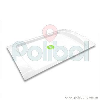 Bandeja de 26 x 39 cm blanca