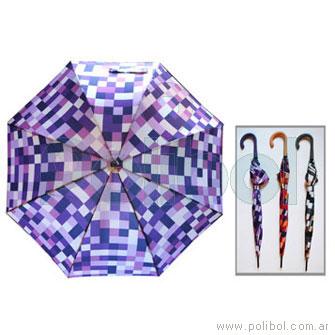 Paraguas de dama largo