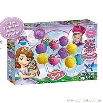 Fábrica de Pop Cakes Princesita Sofía