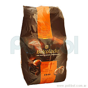 Chocolate con leche Belcolade