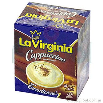 Café cappuccino tradicional en sobres