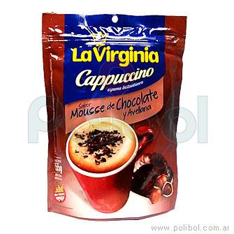 Café Cappuccino Mousse de chocolate y avellana