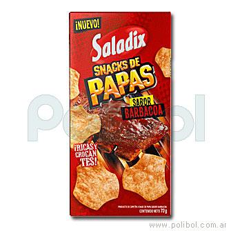 Snacks de papas Barbacoa