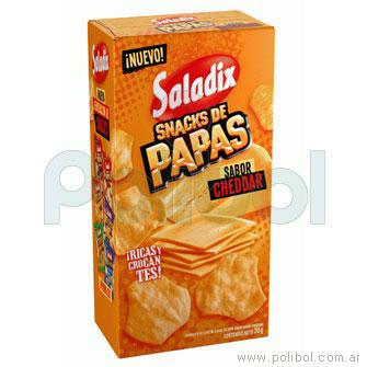 Snacks de papas Cheddar